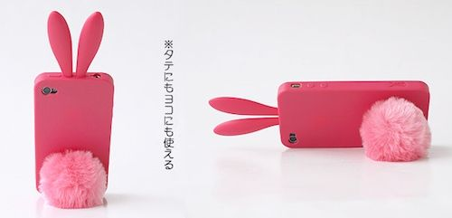 うさぎ耳iPhoneケース4